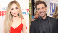 Sabrina Carpenter and Zac Efron