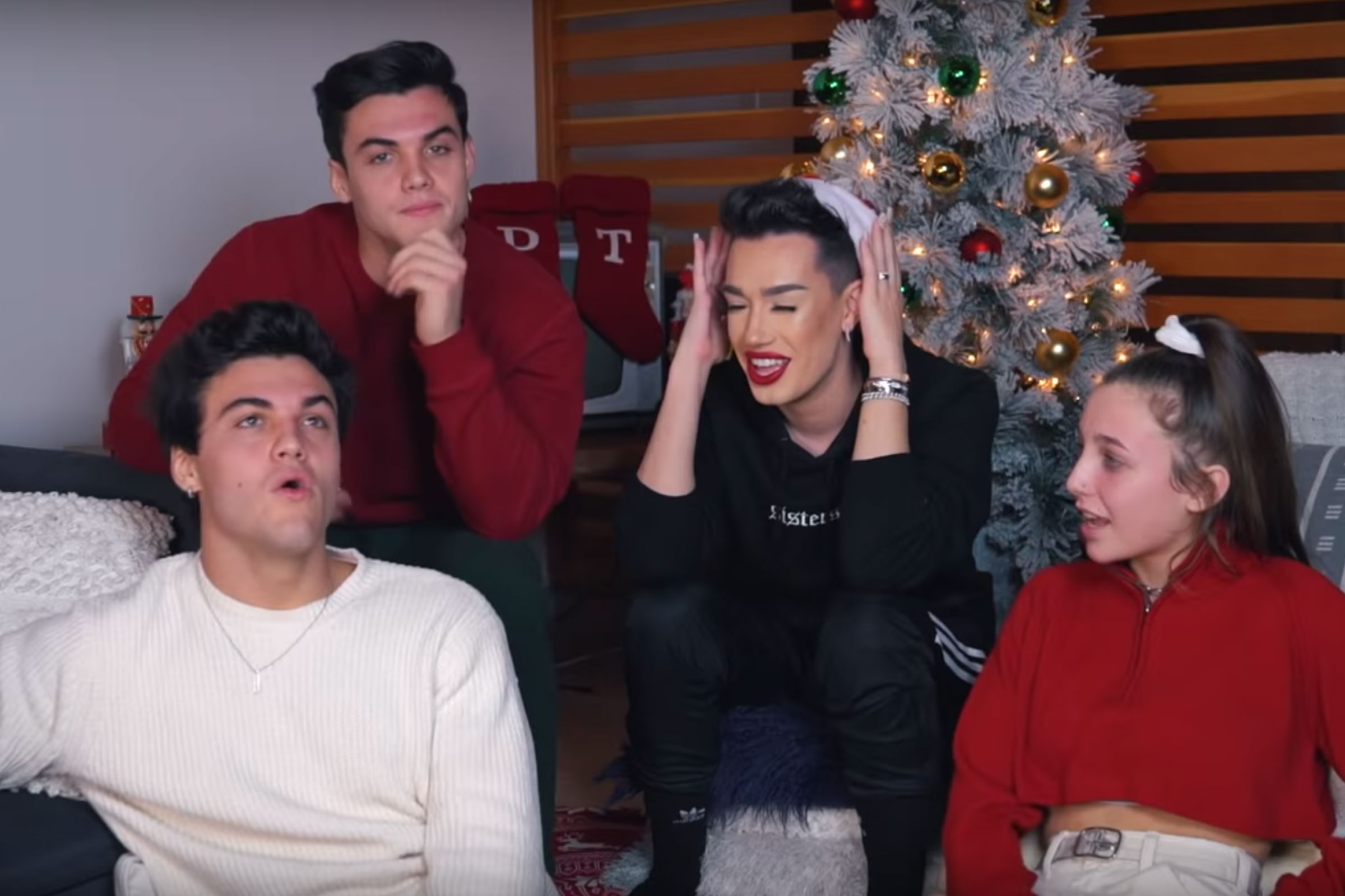 Christmas Sister Swap.See What Presents The Sister Squad Got Each Other For Christmas