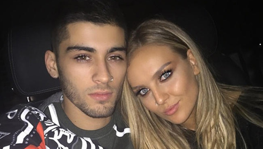 Zayn Malik Perrie Edwards Throwback Selfie