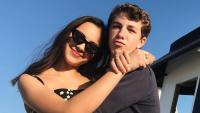 Olivia Rodrigo and ethan wacker hugging instagram