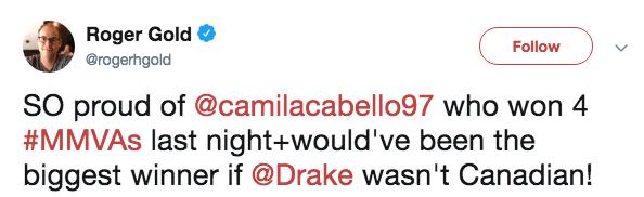 Camila Cabello Tweet