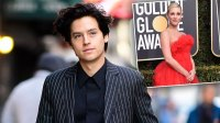 Cole Sprouse Golden Globes