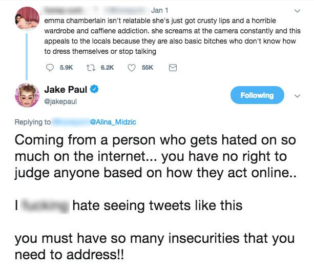 Jake Paul Dolan Twins Feud