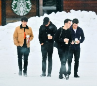 EXCLUSIVE: The Jonas Brothers reunite in Mammoth