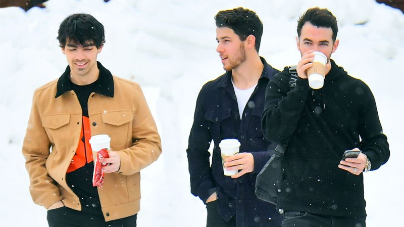 Jonas Brothers Reunite For A Ski Trip