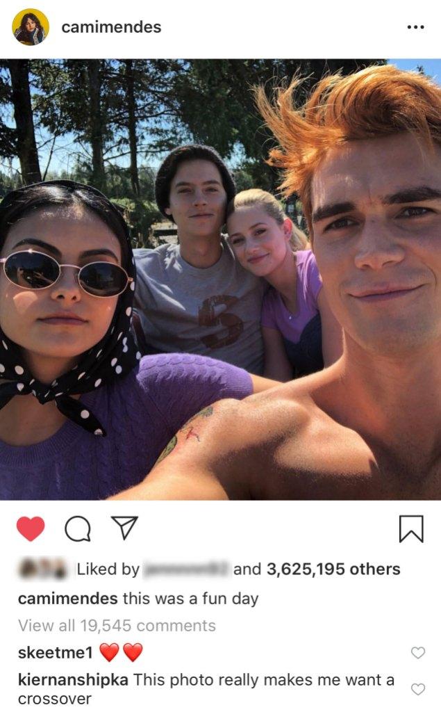 Kiernan Shipka Comment Riverdale Sabrina Crossover