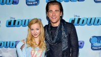 Dove Cameron Luke Benward Red Carpet Dumplin