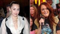 Miley Cyrus & Lindsay Lohan