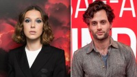 Millie Bobby Brown Penn Badgley