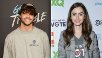 Noah Centineo & Lily Collins