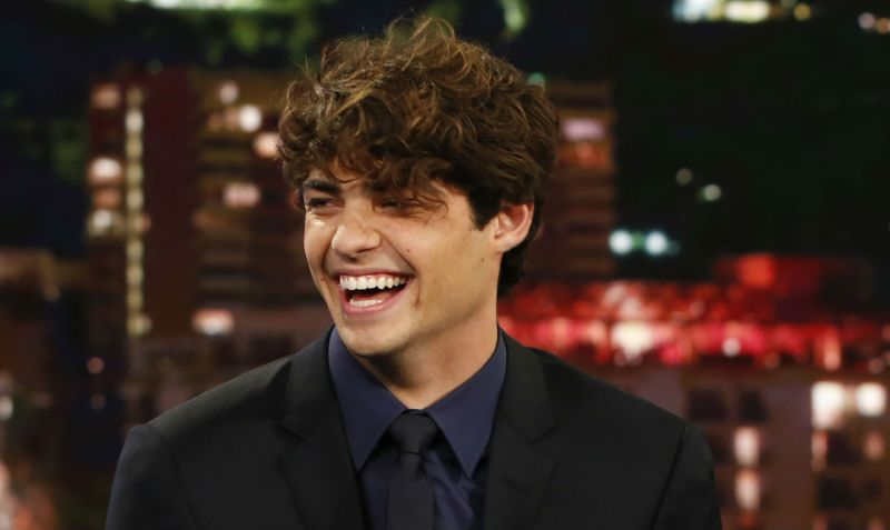 Noah Centineo Reveals First Kiss Story