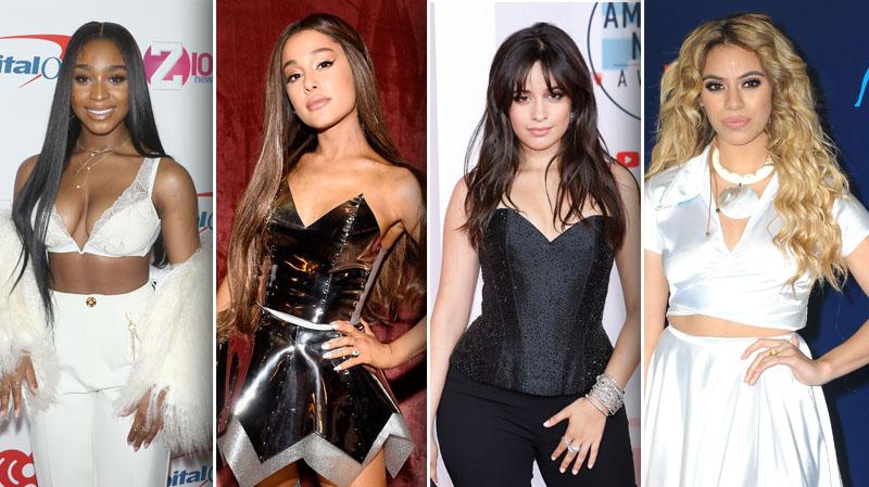 Normani Ariana Grande Camila Cabello Dinah Jane