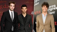 Rob Pattinson Taylor Lautner Noah Centineo Red Carpet Suit