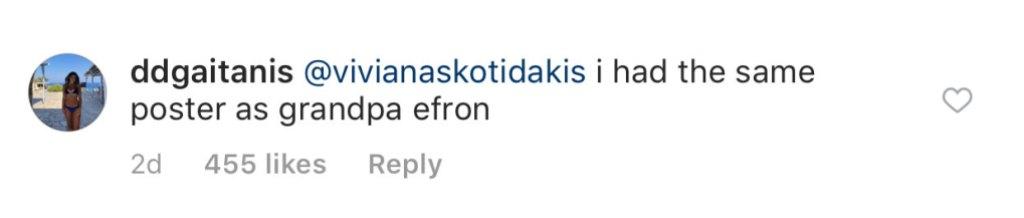 Zac Efrons Grandpa Huge Fan