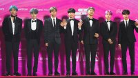 BTS Presenting At The Grammys