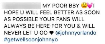 Johnny Orlando Breaks His Nose