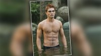 KJ Apa Shirtless