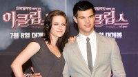 Kristen Stewart Taylor Lautner Reunite