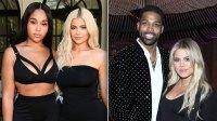 Kylie Jenner Jordyn Woods Khloe Kardashian Tristan Thompson