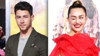 Miley Cyrus & Nick Jonas