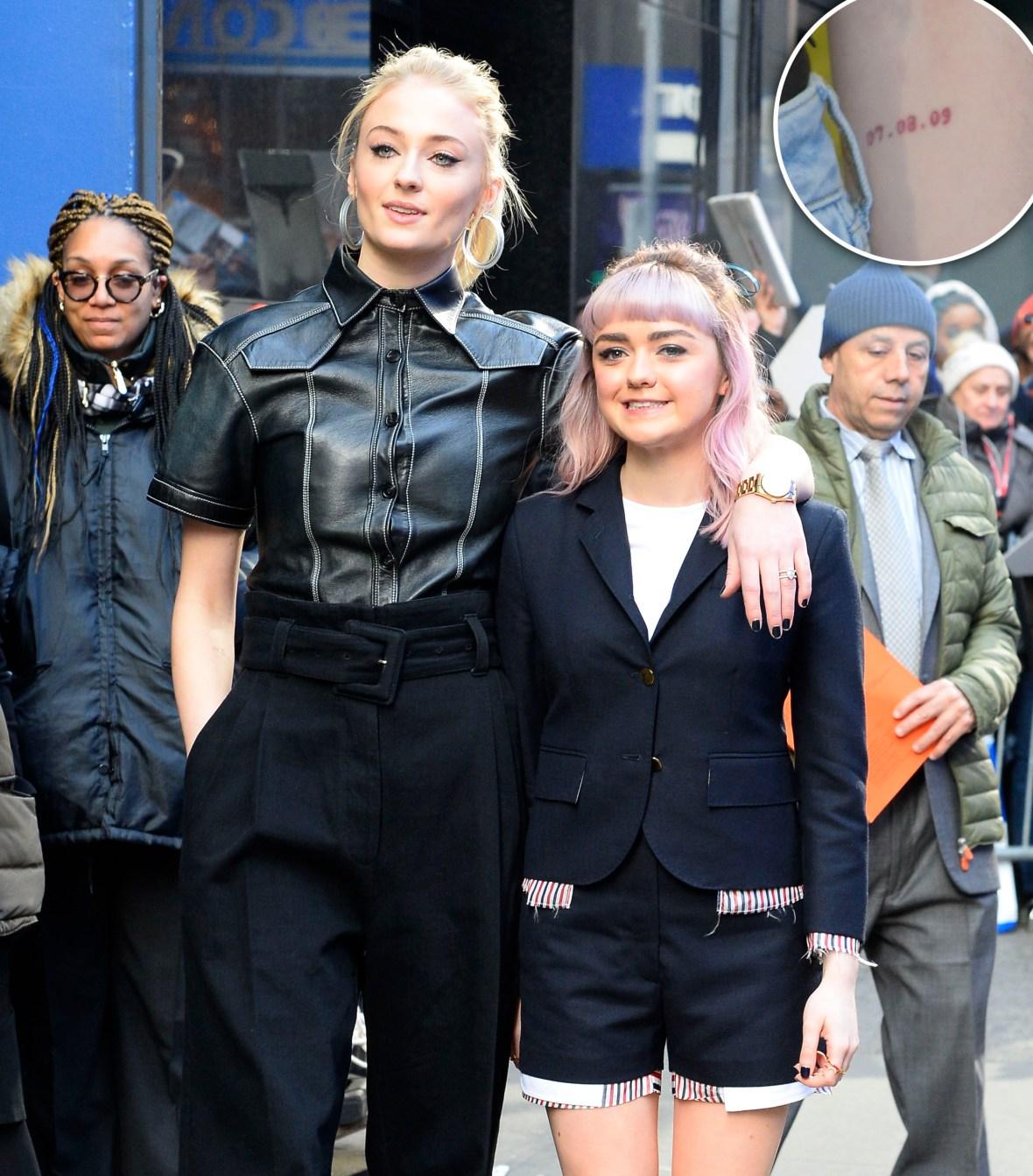 Sophie Turner & Maisie Williams