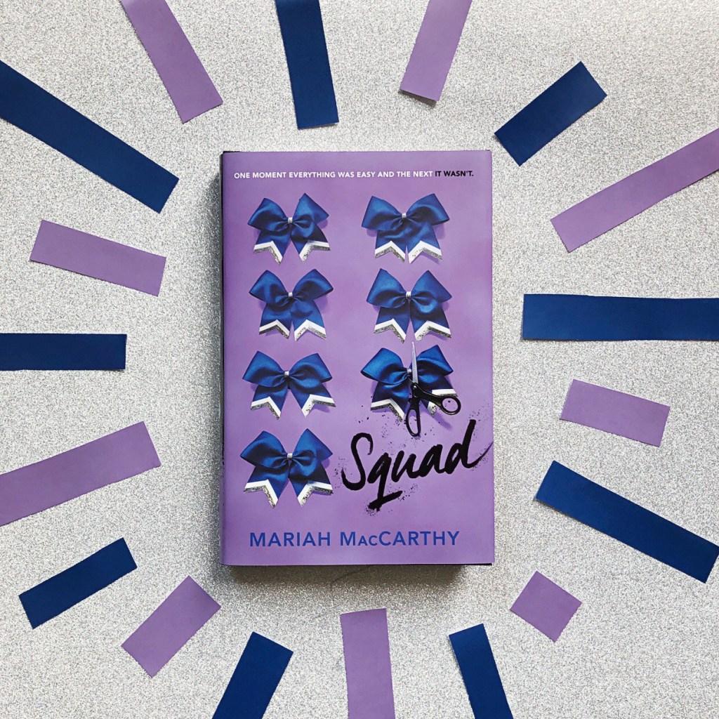 Squad by Mariah McCarthy cheerleading