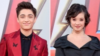 asher angel peyton elizabeth lee red carpet