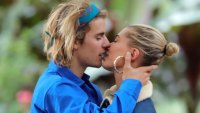 Justin Bieber Hailey Baldwin Kiss