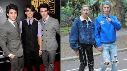 Jonas Brothers, Justin Bieber & Hailey Baldwin