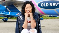 Lana Condor Old Navy