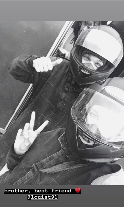 Louis Tomlinson Go Karting