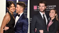 Nick Jonas Priyanka Chopra Liam Hemsworth Miley Cyrus Double Date