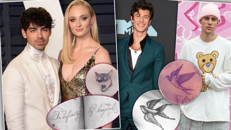 celeb-mathcing-tattoos