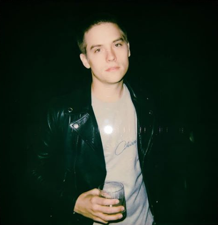 Sprouse shaved head