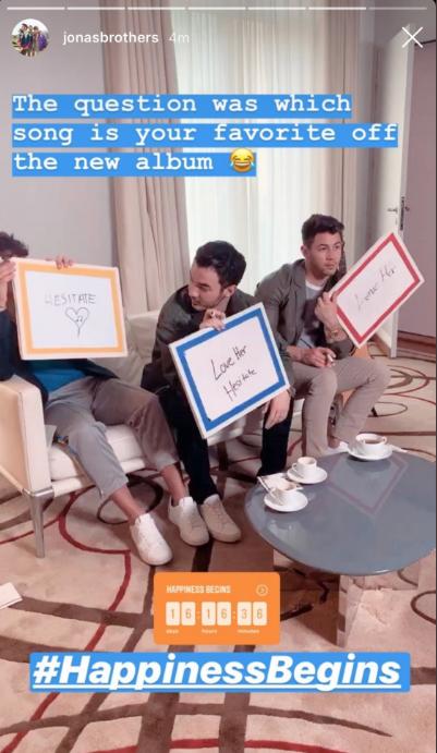 Jonas Brothers Track Names