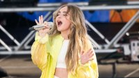 Sabrina Carpenter on stage