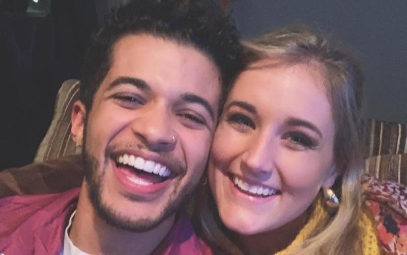 Jordan Fisher Girlfriend Ellie Woods Engaged