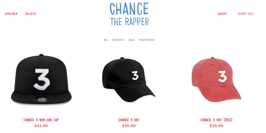 Chance the Rapper Merch