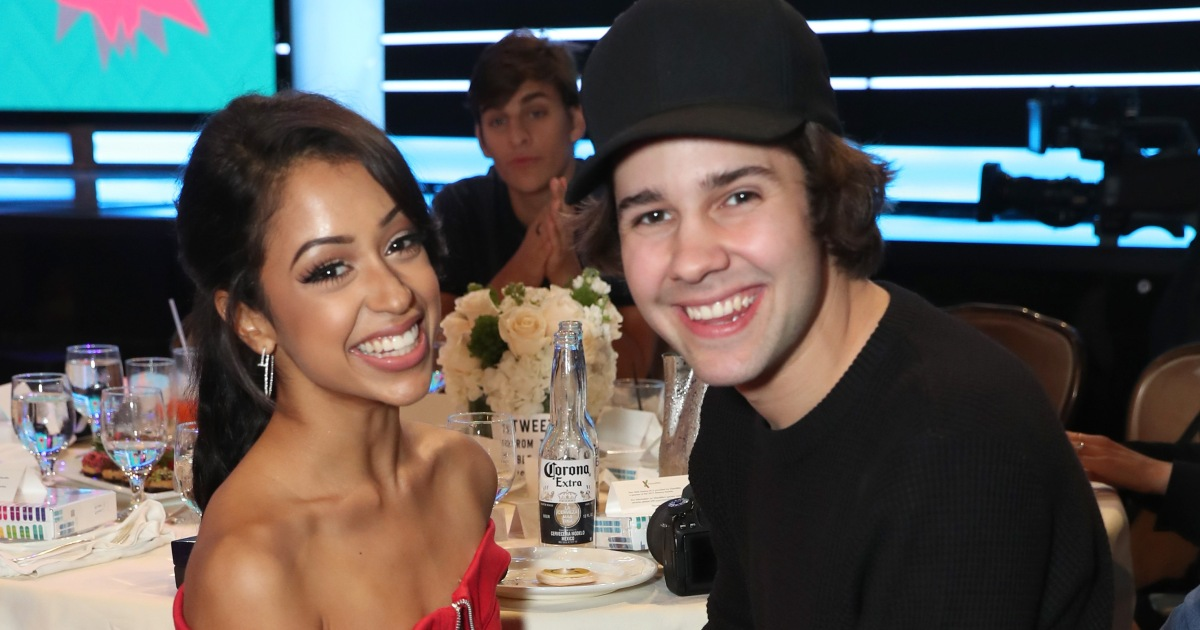 David Dobrik Talks Friendship With Ex-Girlfriend Liza Koshy