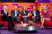 Sophie Turner, Jessica Chastain, James McAvoy and Taylor Swift on Graham Norton Show