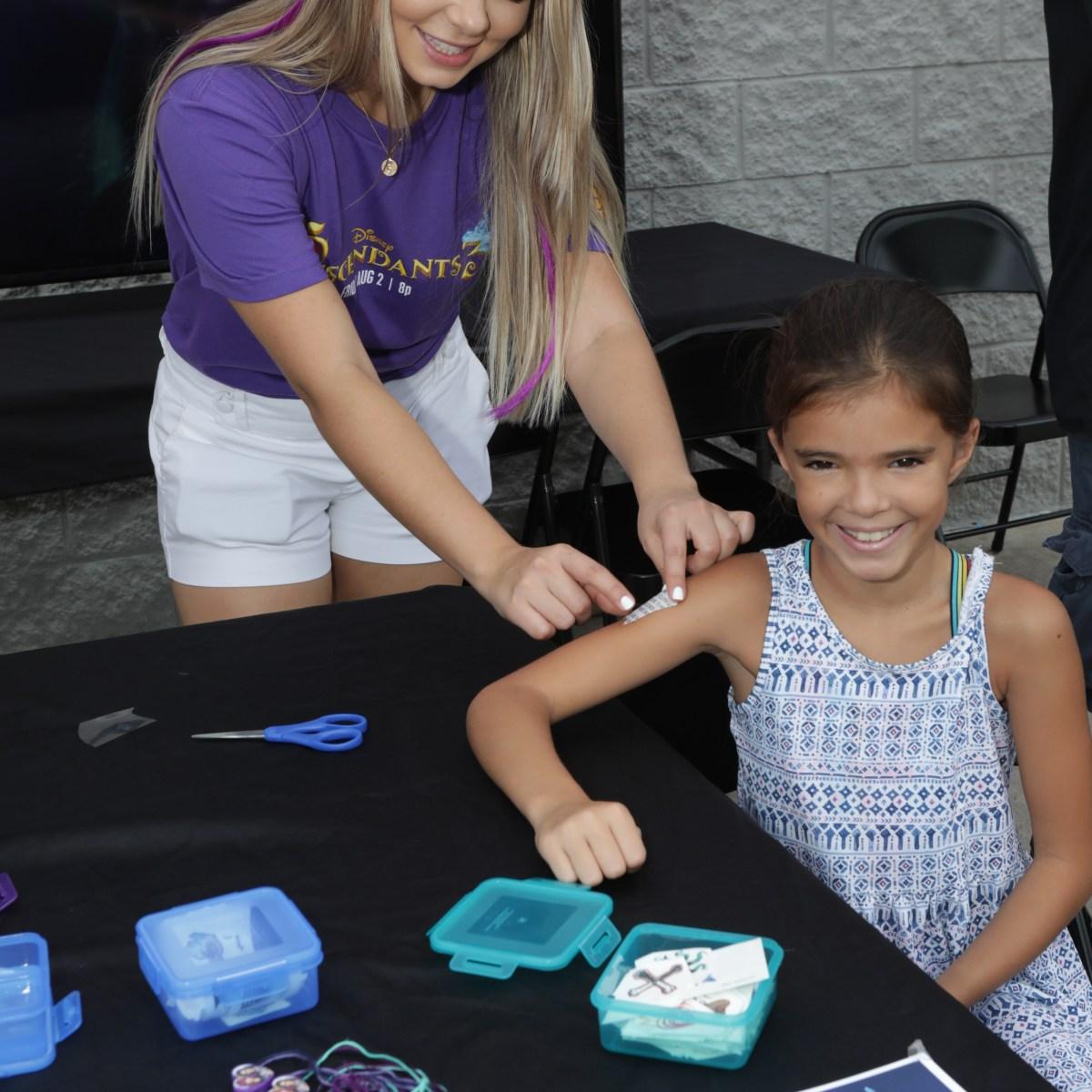 Descendants 3' Fan Event: Visit J-14 Pop-Up Experiences