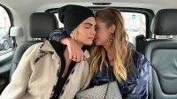 Cara Delevingne Ashley Benson Kiss Instagram