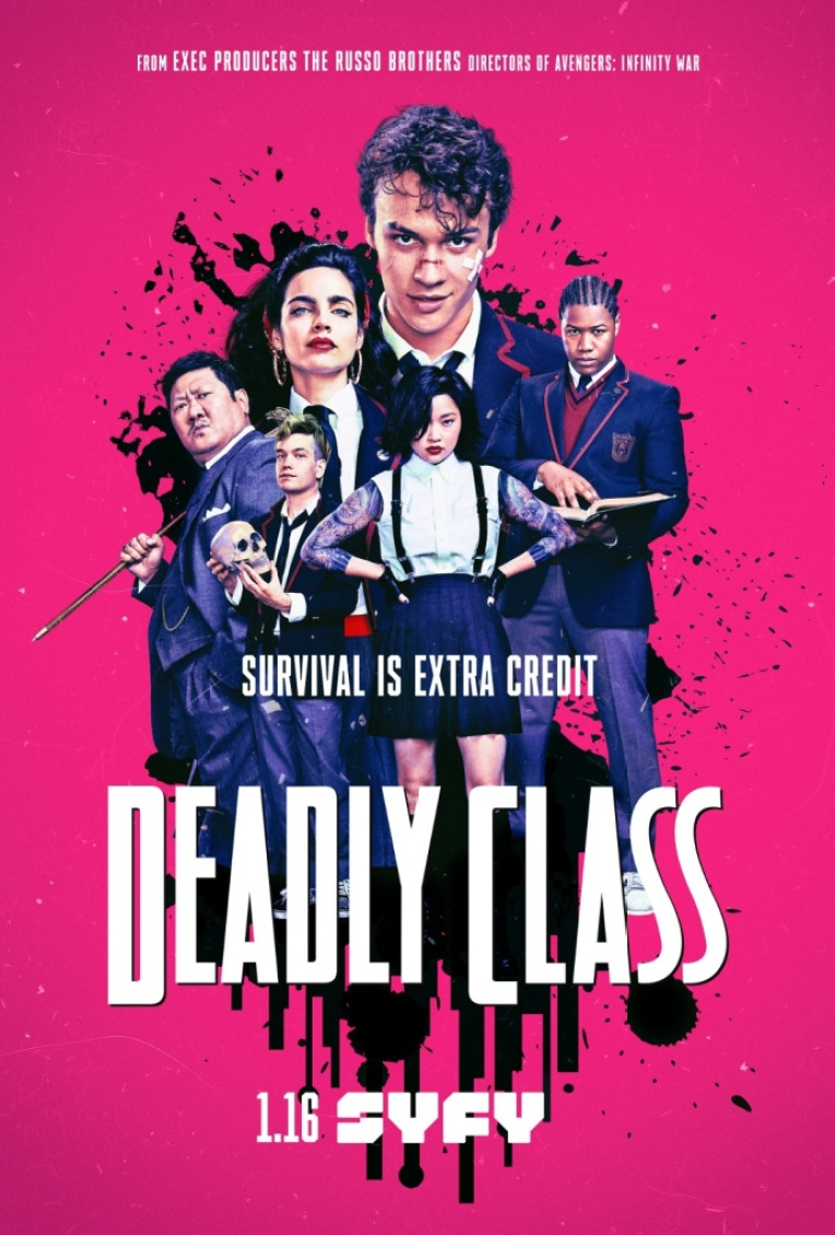 Deadly Class Movie Poster