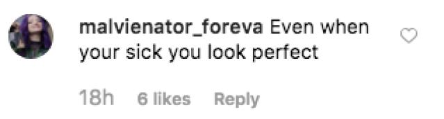 Dove Cameron Sick Comments