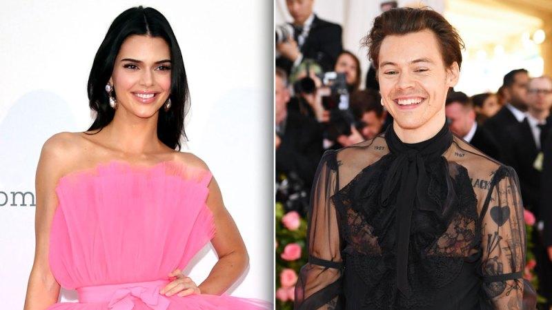 Harry Styles Kendall Jenner FaceTiming