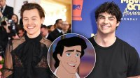 Harry Styles Noah Centineo Prince Eric