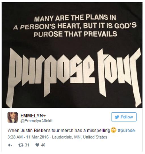 Justin Bieber Purpose Mistake