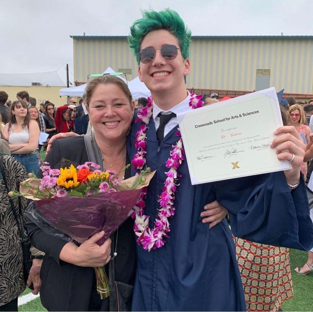 milo manheim mom high school graduation