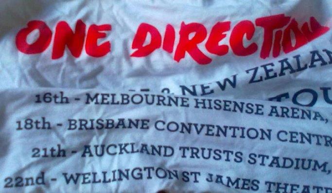 One Direction typo