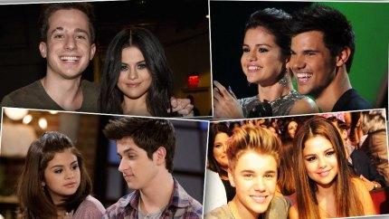 Selena Gomez past boyfriends